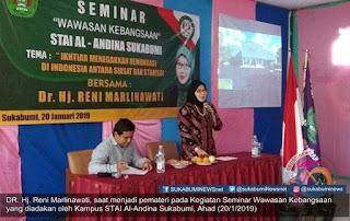 Anggota Komisi X DPR RI, Dr. Hj. Reni Marlinawati mengatakan, program Fullday School merupakan topik yang sudah lama. Dan hari ini pemerintah tidak lagi menerapkan program tersebut, melainkan diserahkan kembali kepada potensi sekolahnya masing-masing.