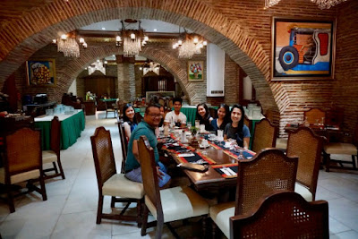 Hotel Luna Vigan hosts the Kalaminions