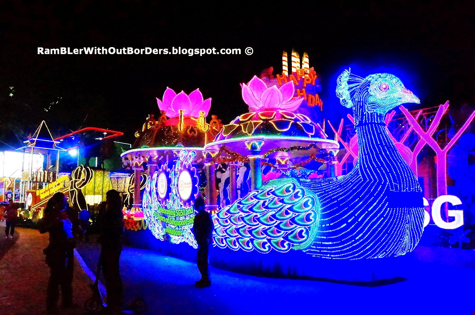 Chingay Float, Singapore
