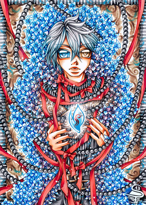 19-Precious-Light-Sandra-Filipova-DarkSena-Manga-Black-and-White-and-Colour-Detailed-Drawings-www-designstack-co