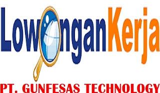 Lowongan Kerja Pt Gunfesas Technology Info Loker Karawang