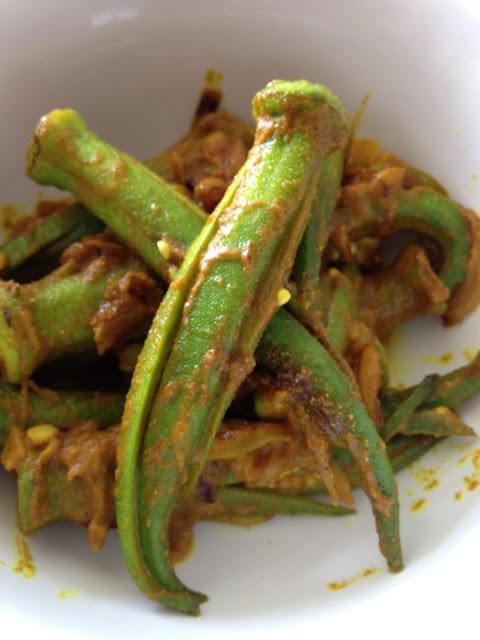 gombos curcuma coriandre indienne