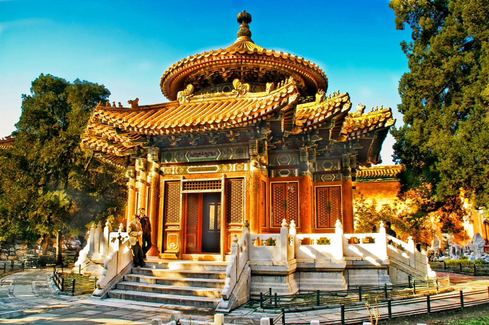 Taihedian Home Of Supreme Harmony Imperial Palace ...  |Imperial Palace Forbidden City Beijing China