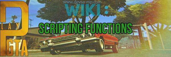 [Scripting Functions] - SetPlayerName