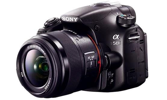 Harga Kamera Sony Digital SLT-A58 Kit Termurah Lengkap
