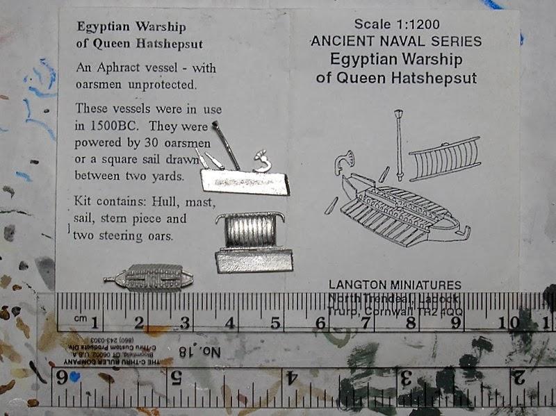 Mini Ship Gaming: Langton ancient ships, part 2