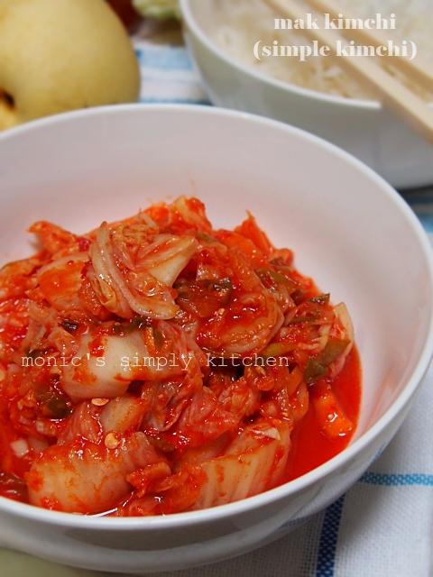 mak kimchi simple kimchi