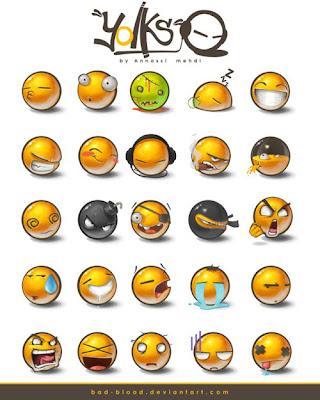 Emoticon BlackBerry Terbaru