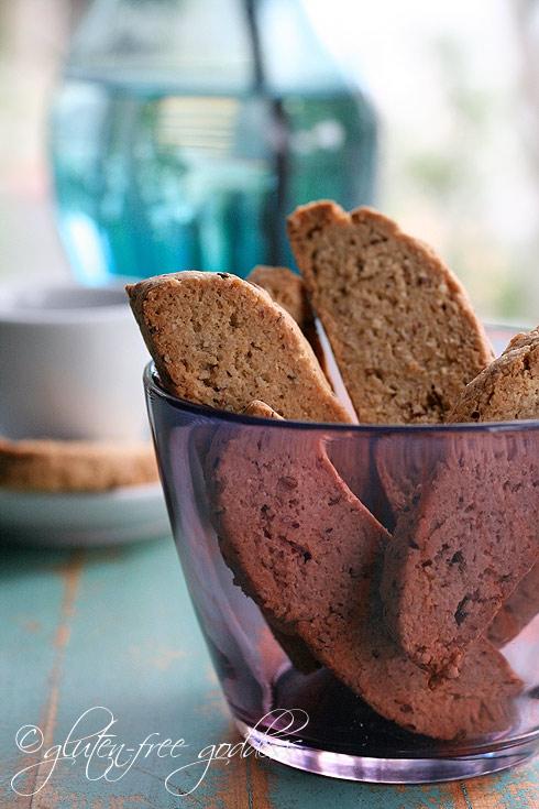Gluten-Free Goddess Recipes: Gluten-Free Anise Biscotti