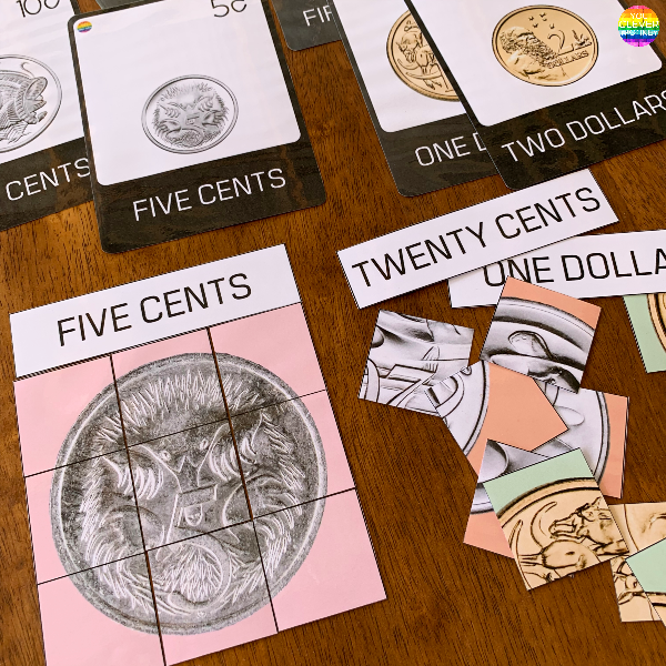 Australian Money - Learning About Coins - Australian Coin Puzzles | you clever monkey