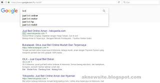 Contoh SEO pada Google