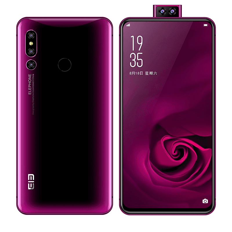 ELEPHONE PX teased, a phone that looks like the P20 Pro, Find X, and NEX S in one!