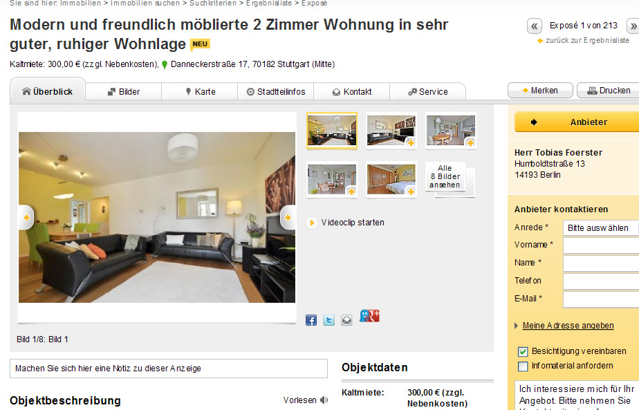 alias herr tobias foerster. Black Bedroom Furniture Sets. Home Design Ideas