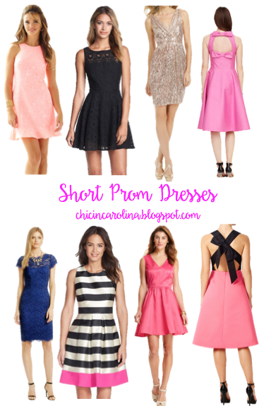 Chic in Carolina: Short Prom Dresses