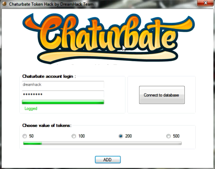 How much is 1 token chaturbate