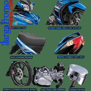 Fitur Spesifikasi Yamaha Jupiter Z CW FI