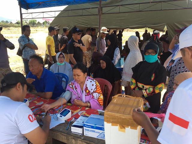 Seknas Prabowo-Sandi Turun Langsung Berikan Bantuan Korban Gempa Di Sulteng