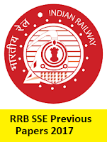 RRB SSE Previous Papers 2017