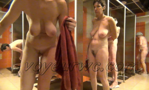 Shower Spy 219-228 (Hidden Camera in a Fitness Club Shower)