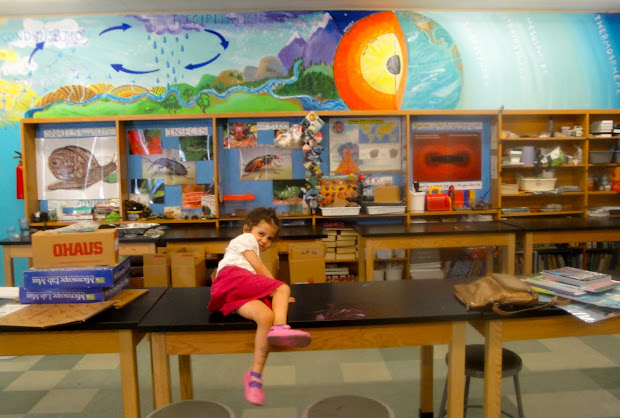 Lois' Art Natural Science Mural