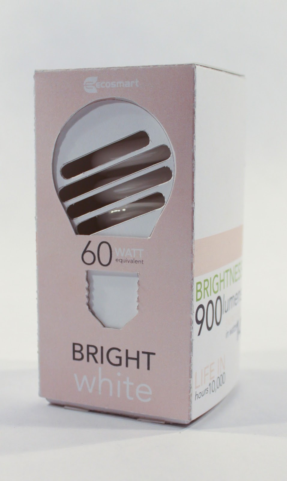 Ecosmart Lightbulbs Redesign Student Project On