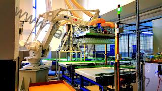 unigripper vakumlu palet bozma robotu