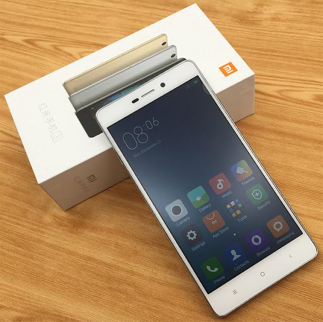 популярні китайські смартфони: Xiaomi Redmi 3