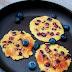 Pełnoziarniste placuszki z miodem i borówką wg 5 Przemian