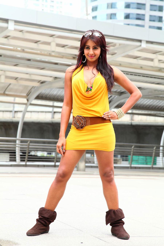 Sanjana at beach spicy masala bikini photo gallery