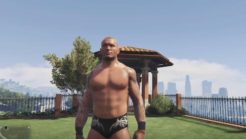 WWE Gta 5 Mod