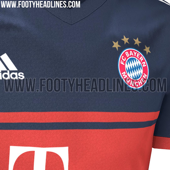 check out 87404 a2075 Bayern Munich's 2017-18 Away Kit Is Leaked And It's Another ...