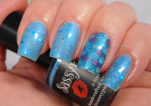 Sassy Pants Polish Mermaid of the Ocean Blue