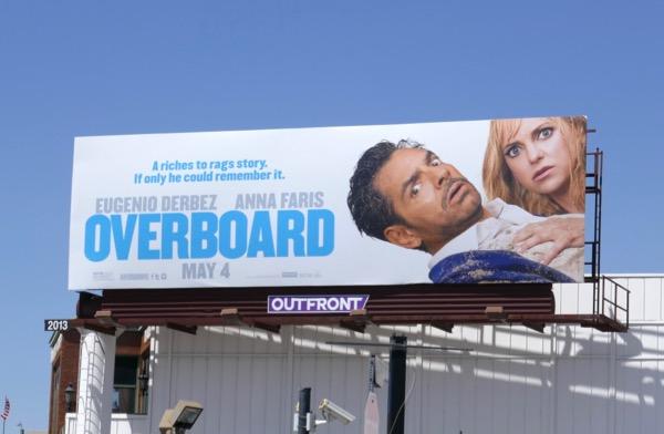 Overboard movie remake billboard
