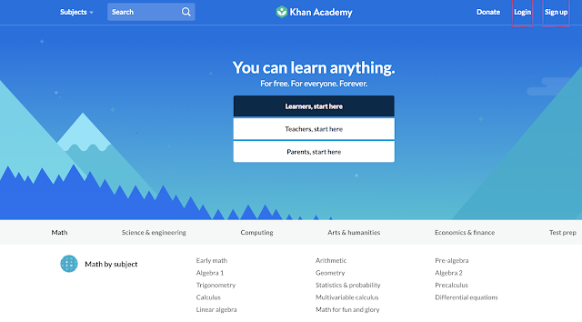 Khan Academy programming courses