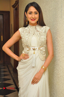 Actress Pragya Jaiswal Stills in Beautiful White Dress at turodu Audio Launch  0008.JPG