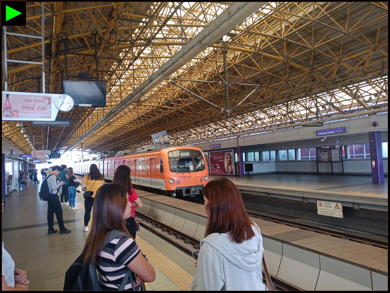 CUBAO-ARANETA LRT STATION