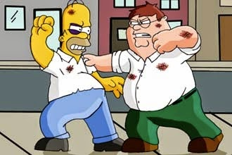 "WATCH! Sneak Peek of ""The Simpsons Guy"" Family Guy & The Simpsons Crossover"