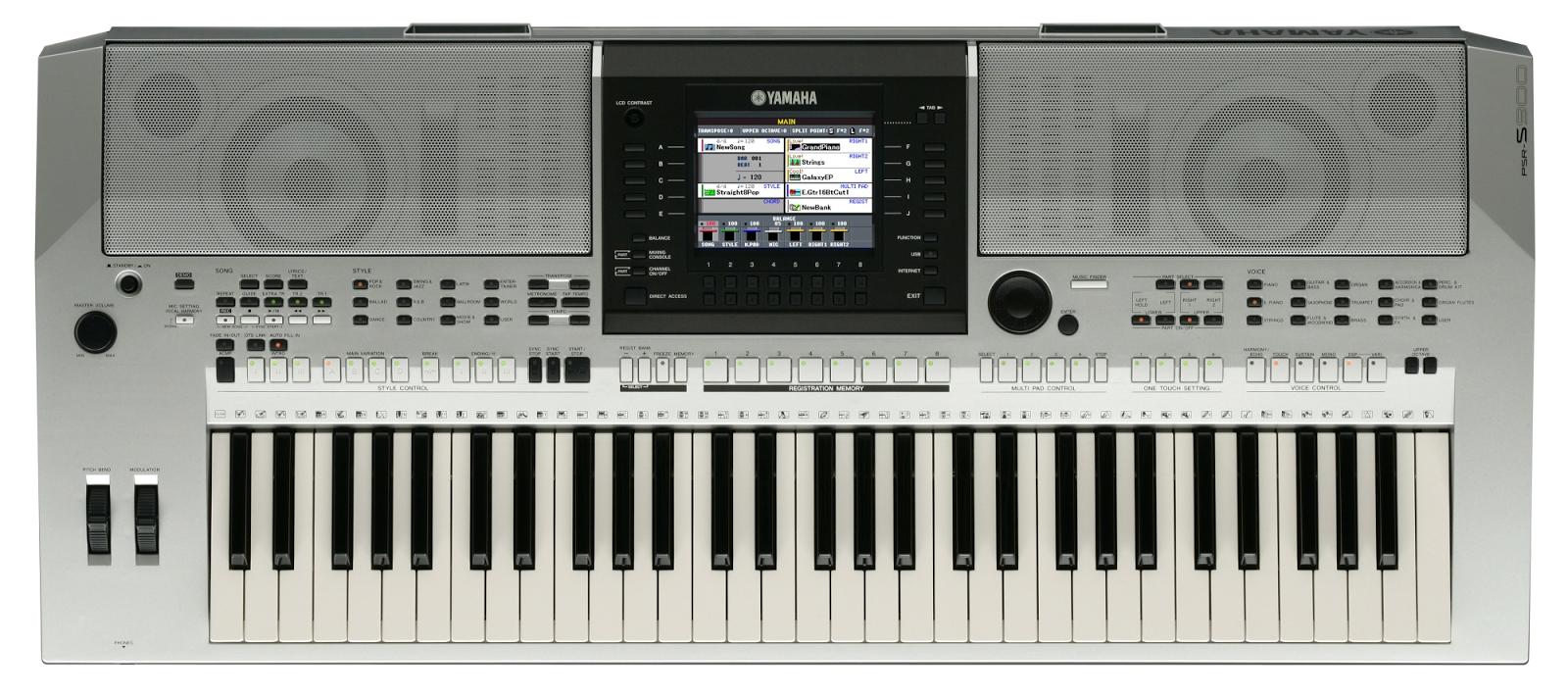 dan Organ Yamaha PSR S900
