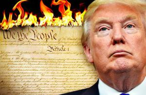 Trump versus the US Constitution