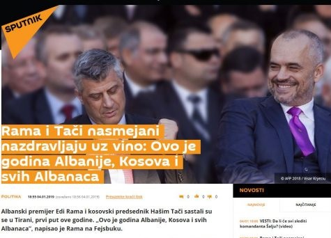 Rama celebrates with Thaci: May this be the year of all the Albanianism