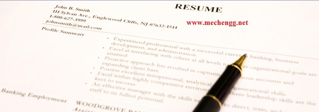 proper resume format for freshers - Proper Resume
