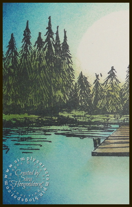 Simply Sara Stampin' ~ Sara Hoogendoorn: Lakeside ~ A Fun Stampers