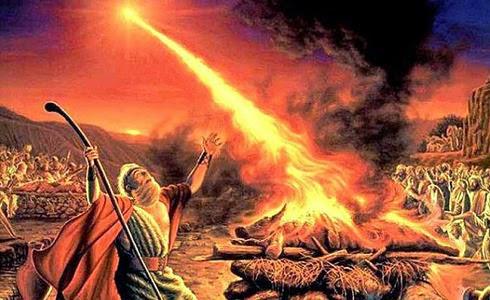 Desafío del profeta Elías a seguidores de Baal