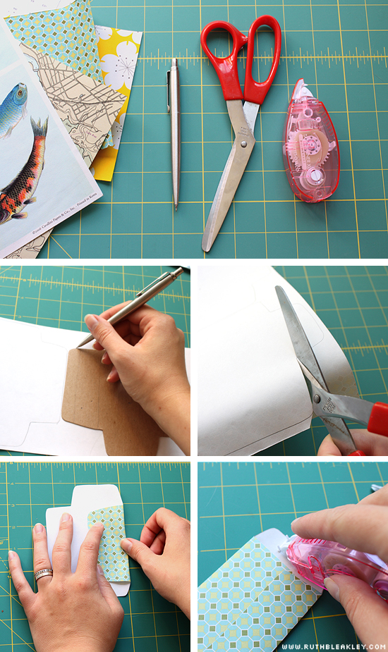 tutorial easy tiny envelopes poppytalk