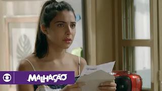 Malhação - Vidas Brasileiras: capítulo 285 da novela - 11/04/2019