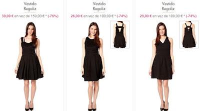 Vestidos en negro
