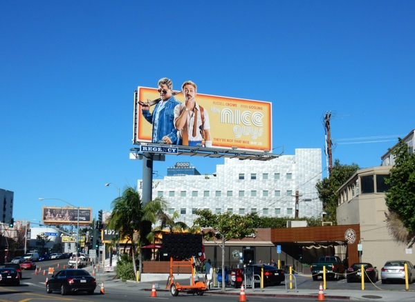 Nice Guys movie billboard