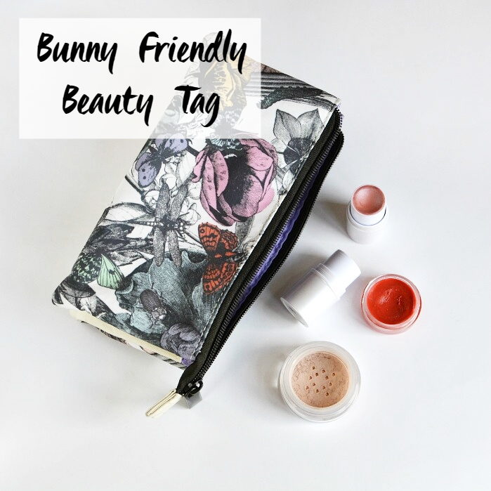 Bunny Friendly Beauty Tag | Cruelty-Free Beauty