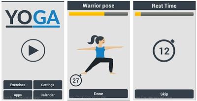 aplikasi gerakan yoga android