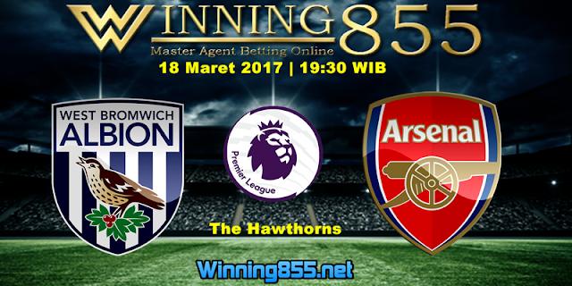 Prediksi Skor West Brom vs Arsenal 18 Maret 2017